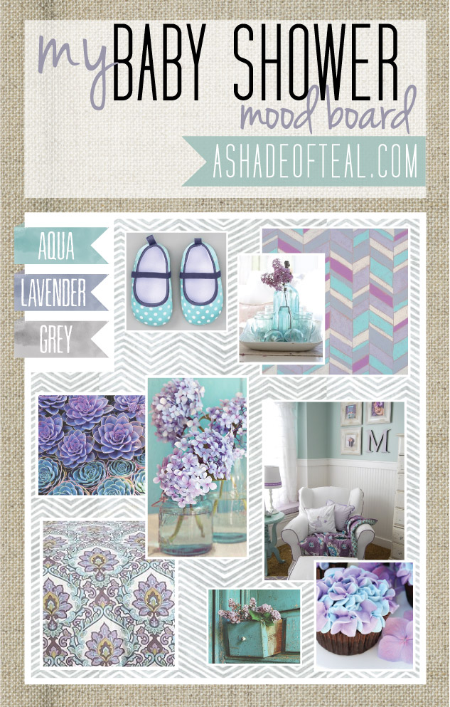 Baby Shower Mood Boards A Shade Of Teal