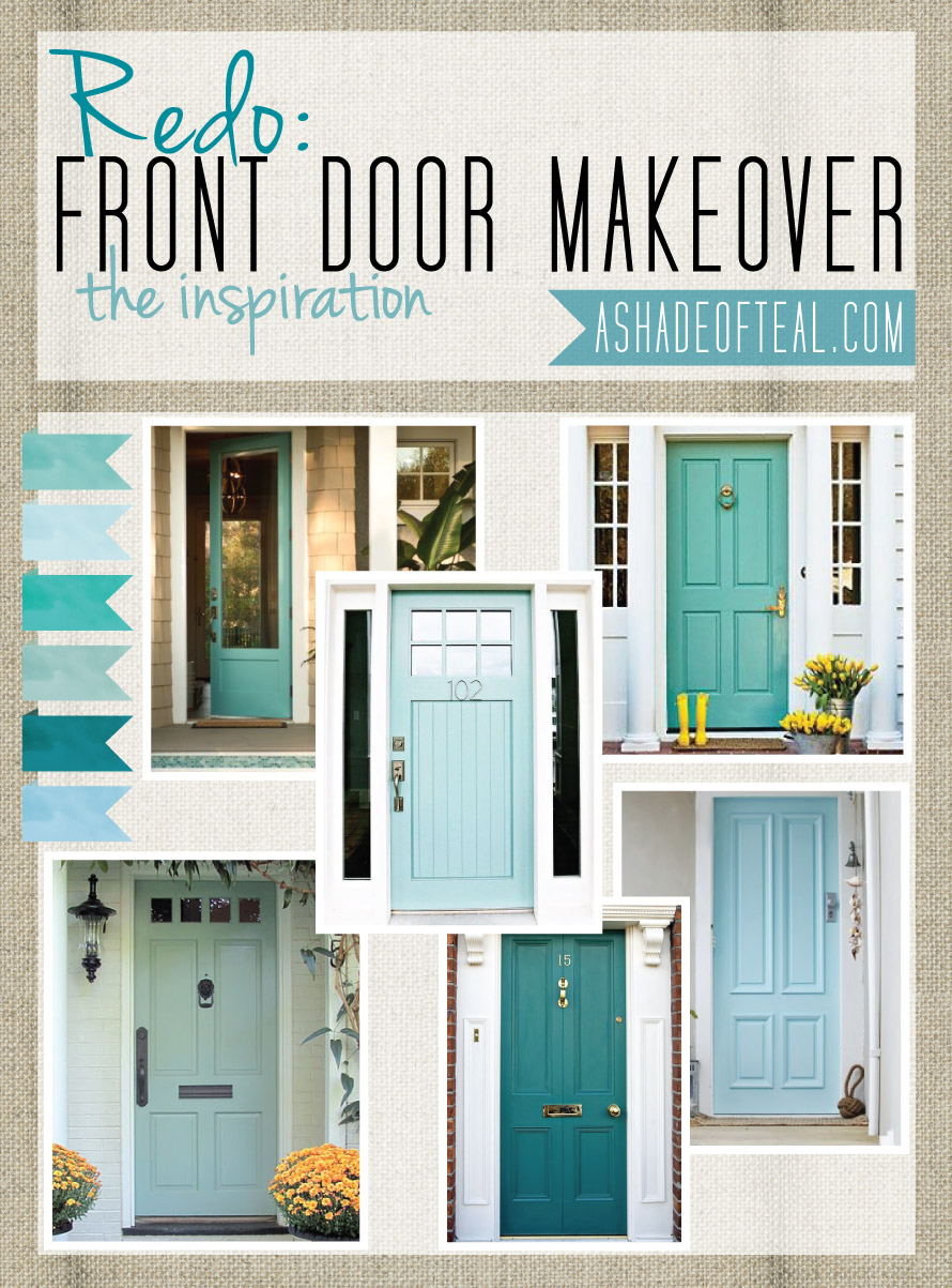 Redo front door inspiration - Front door color ideas inspirations can use ...