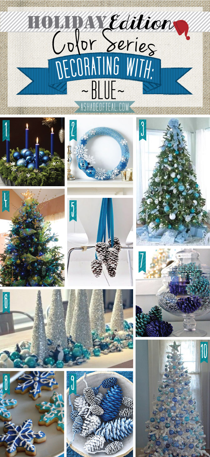 Color series holiday edition blue - Is blue a christmas color ...
