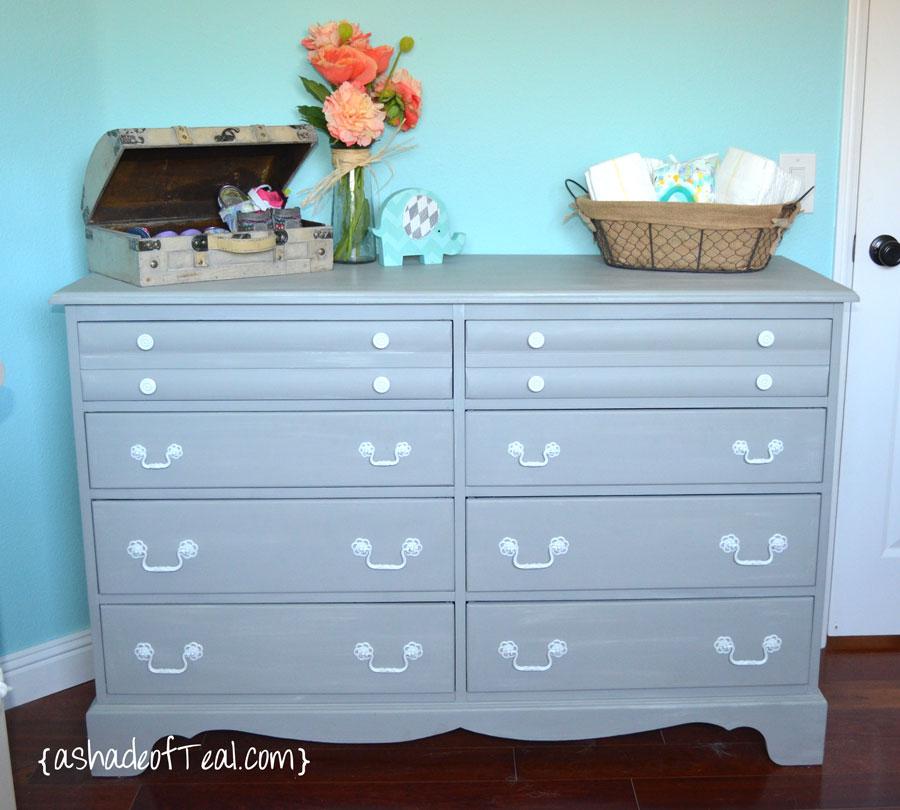 Nursery Update, Before+After Dresser Pt.2