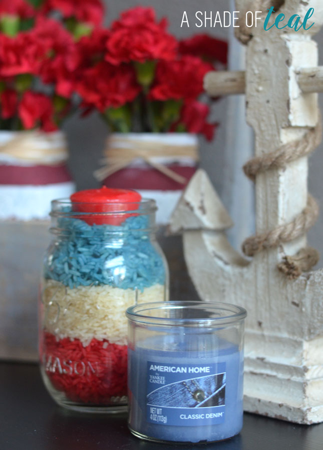 DIY Rice Candle Holder with American Home™ by Yankee Candle®