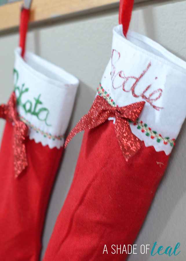 Holiday Stockings & Treat Jars for the Pups! | A Shade Of Teal