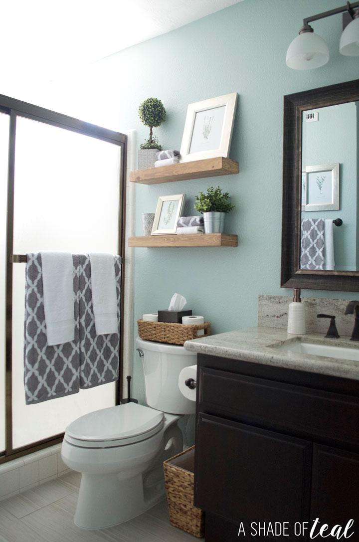Rustic Bathroom Refresh, Source List | A Shade Of Teal