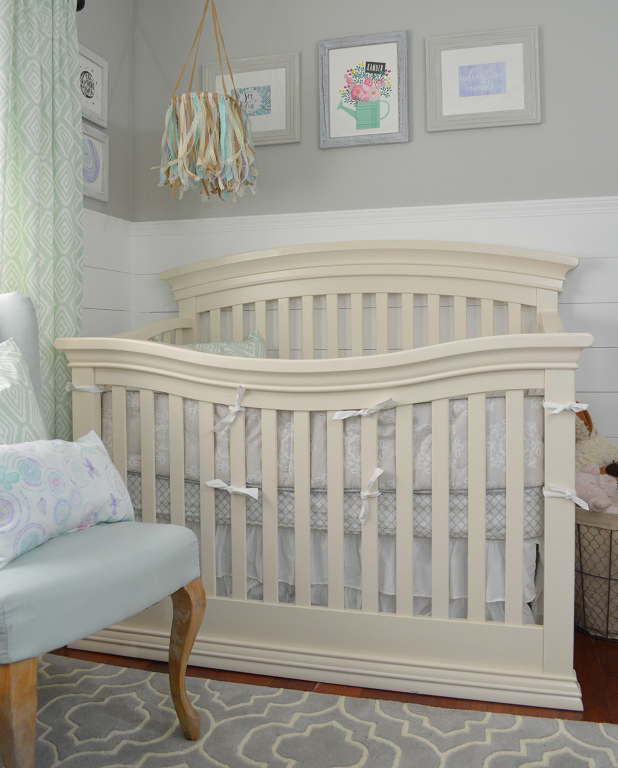 How To Chalk Paint A Crib