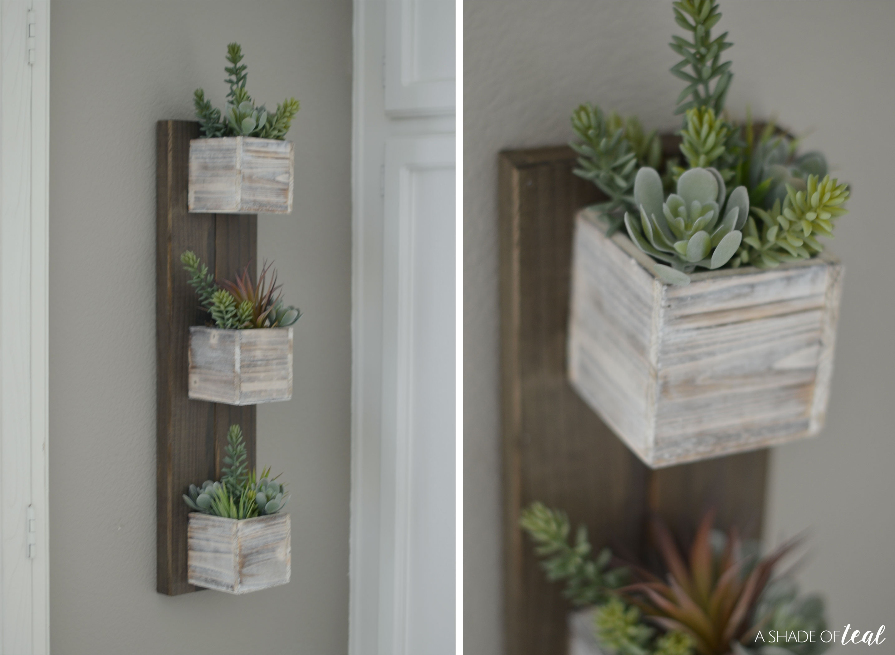 Quick Easy Diy Make A Hanging Succulent Planter Using Clear Gorilla Glue