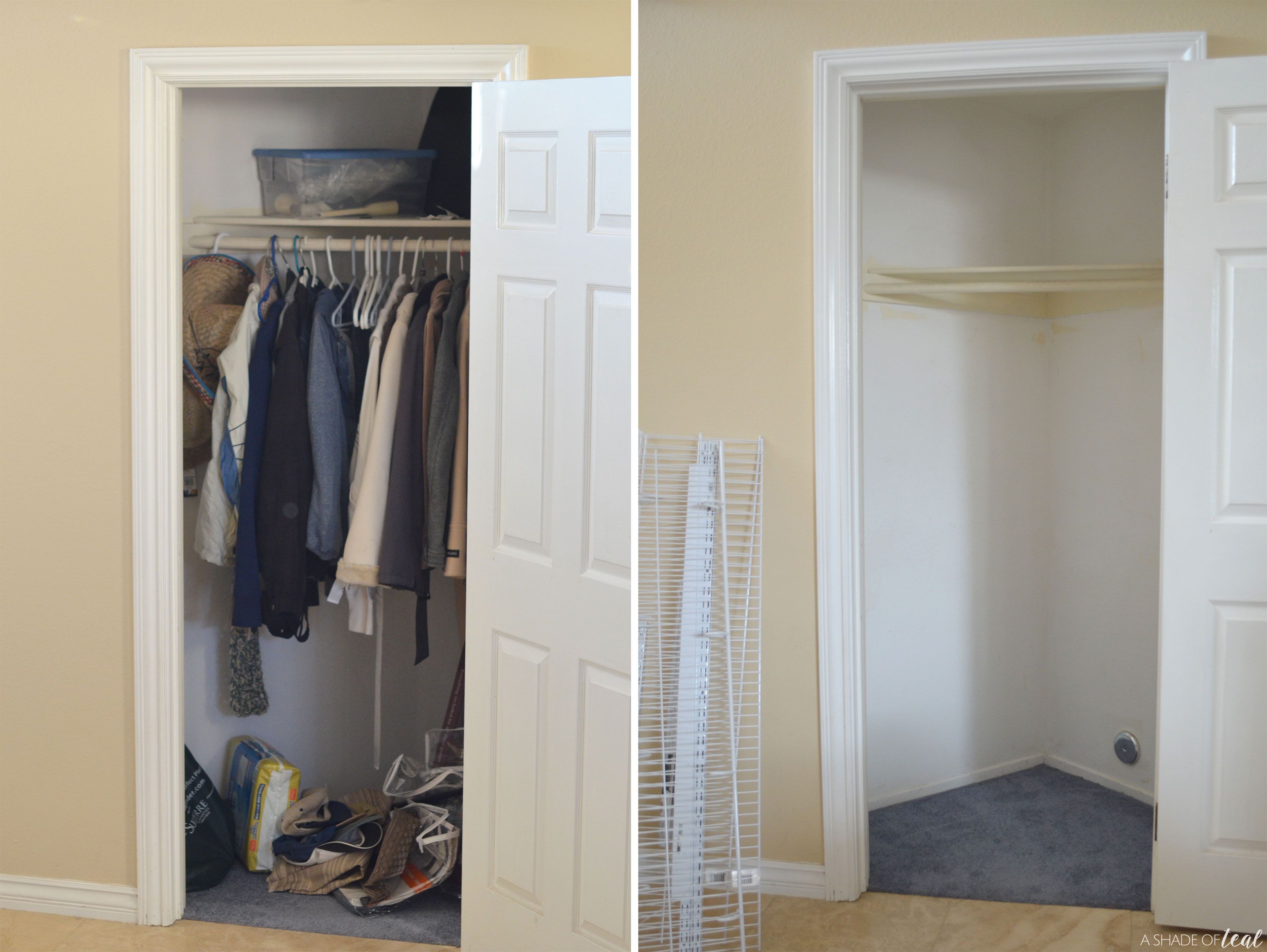 Do It Yourself Updating A Small Closet