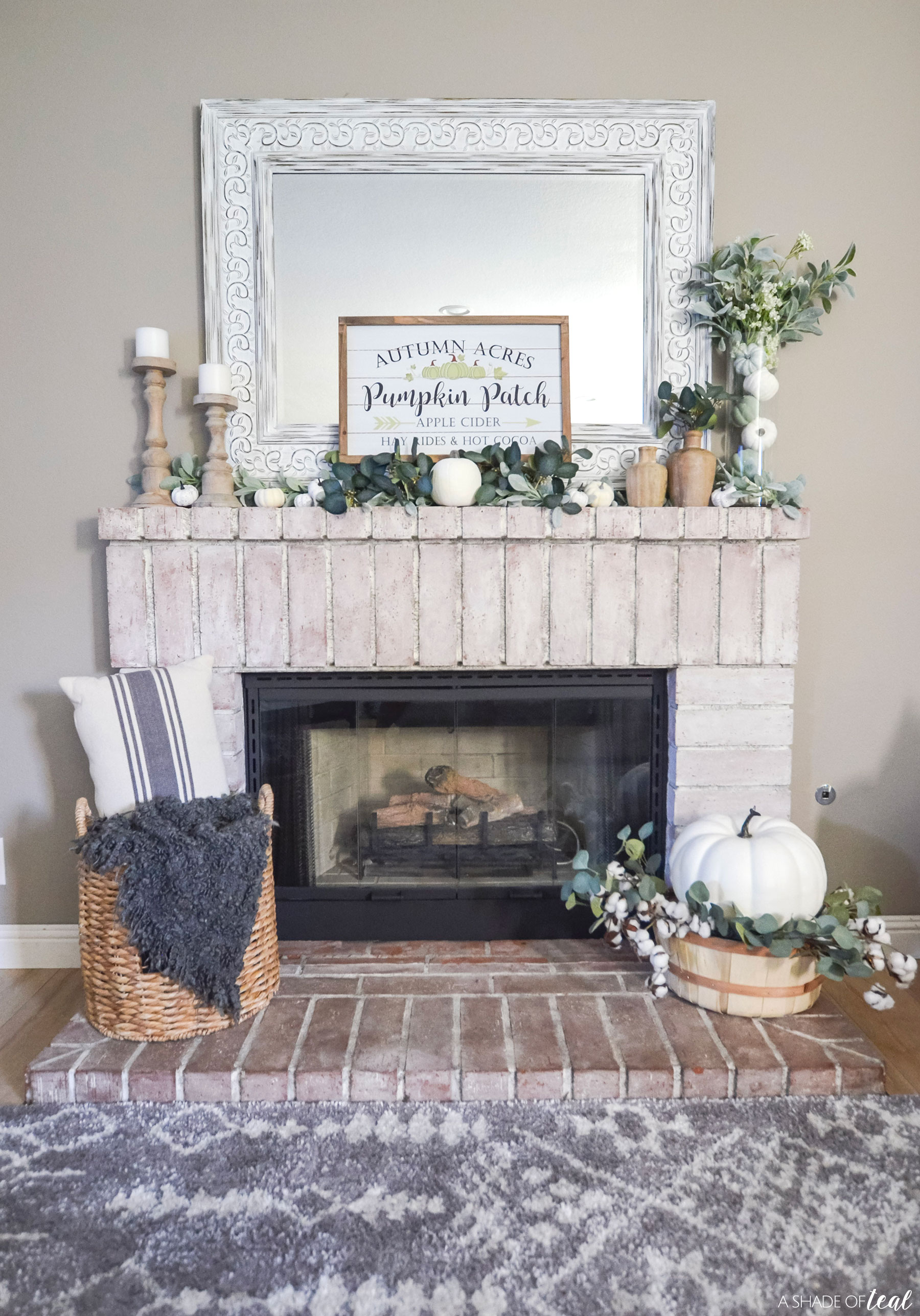 Get The Look Neutral Fall Mantle