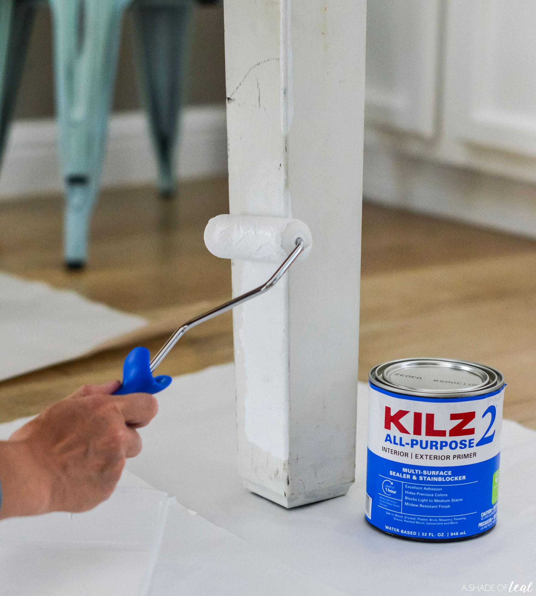 Kitchen Table Update With Kilz